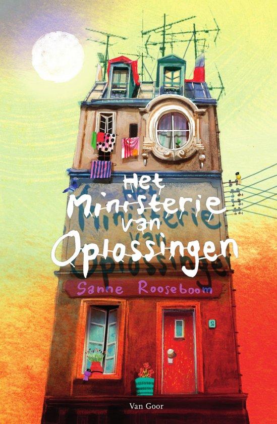 Boek cover Het Ministerie van Oplossingen 1 - Het ministerie van Oplossingen van Sanne Rooseboom (Onbekend)