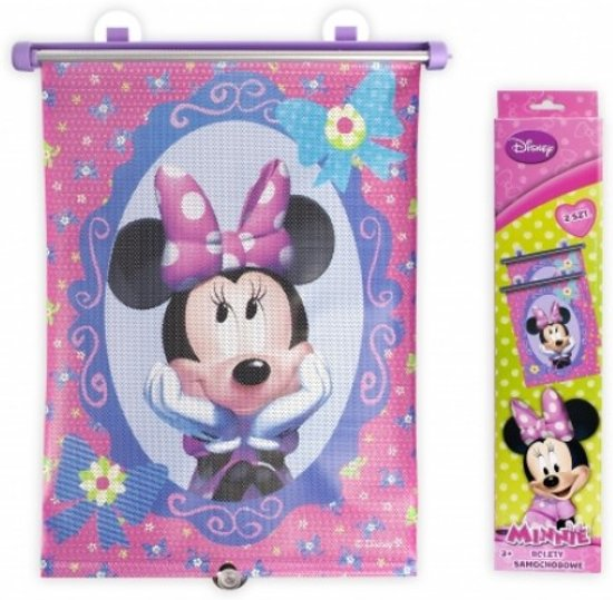 Auto Zonnescherm van Disney Minnie Mouse 2 stuks
