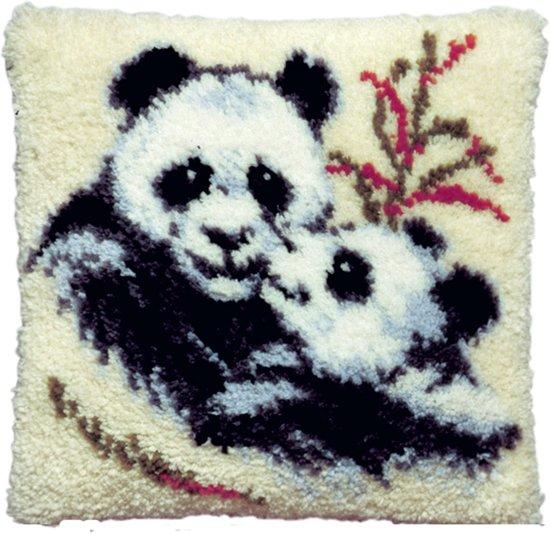 knoopkussen 013.075 panda met jong