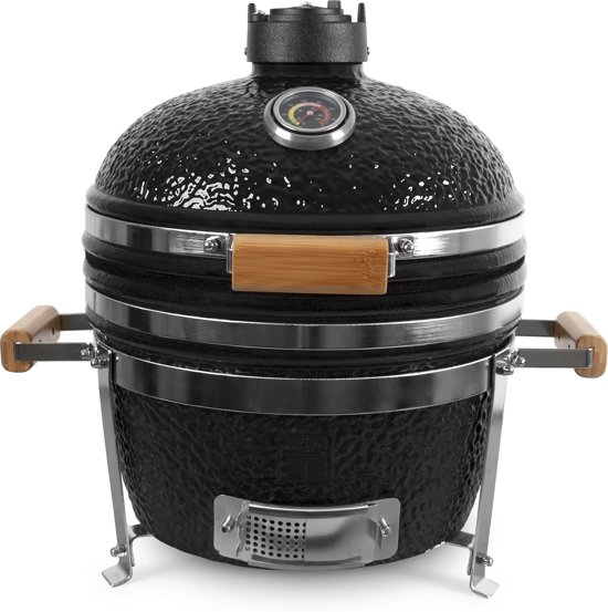 "Patton Table Chef Kamado Barbecue - 16"" - Zwart"