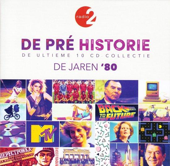 CD cover van De Pre Historie 80 van Radio 2 (België)