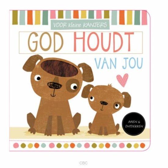 Boek cover God houdt van jou van Sarah Vince (Hardcover)