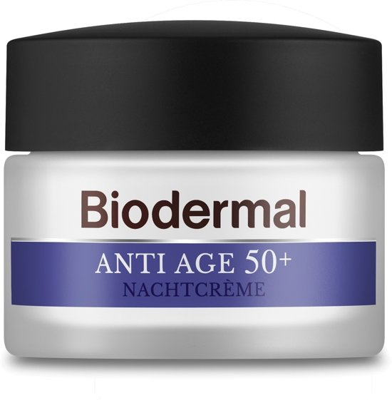 Biodermal Nachtcr.Anti-A. 50
