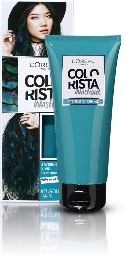 L'Oréal Paris Colorista Washout Haarverf - Turquoise - 1 tot 2 weken Kleuring