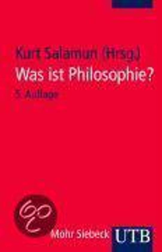 Was ist Philosophie?