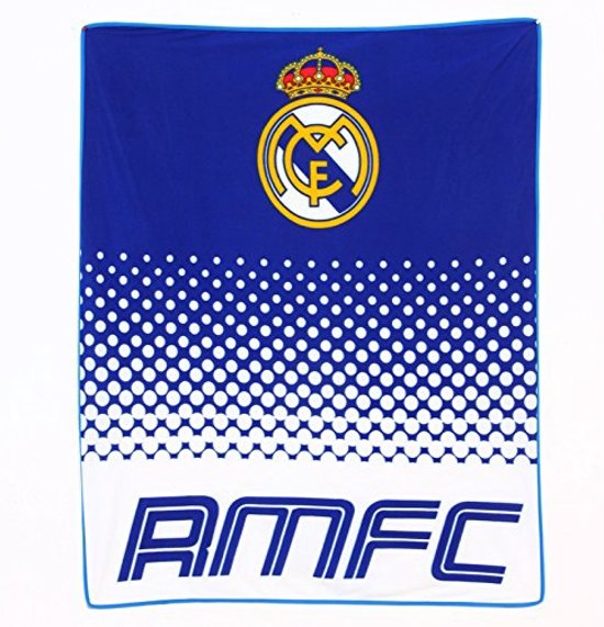 Real Madrid Deken - Fleece - 125 x 150 cm