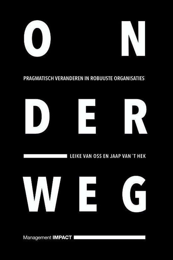Boek cover Onderweg van Leike van Oss (Hardcover)