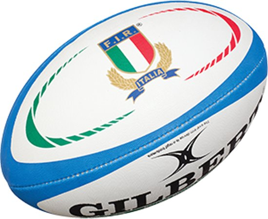 Gilbert Italy Official Replica rugbybal maat 5