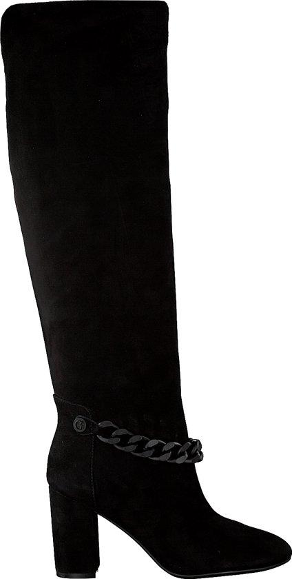 Zwarte overknee laarzen | IKKS Dames | Outlet mode