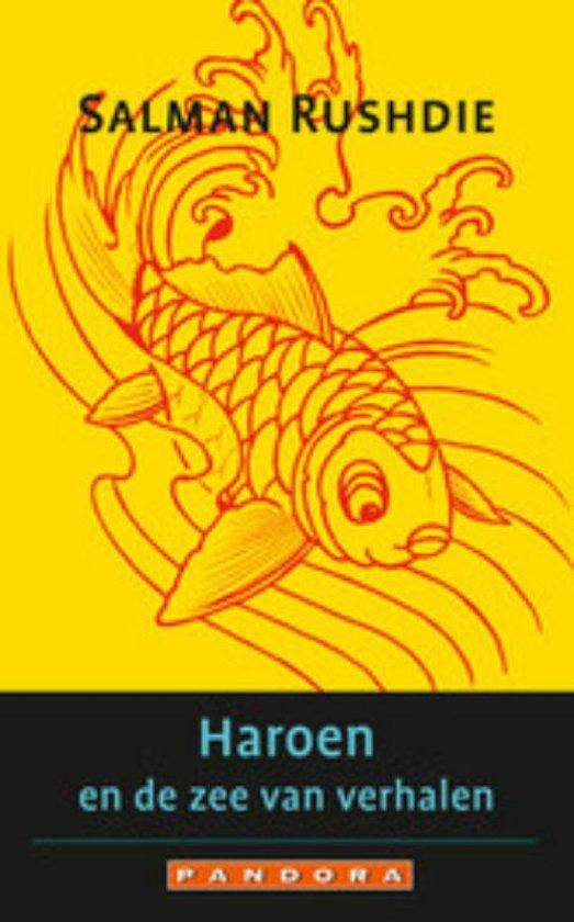 Cover van het boek 'Haroen En De Zee Van Verhalen' van Salman Rushdie