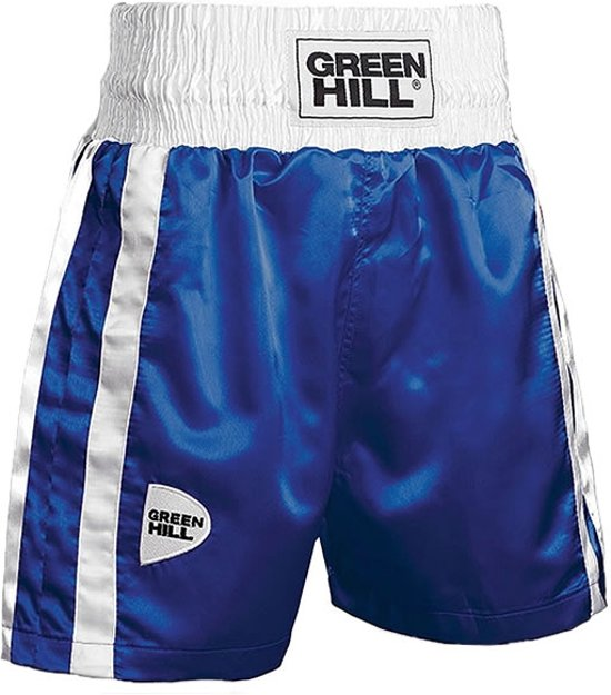 Green Hill Boksshort Elite Blauw-S