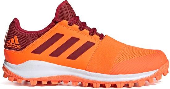 Adidas Divox 1.9S Hockeyschoenen Outdoor schoenen oranje 42