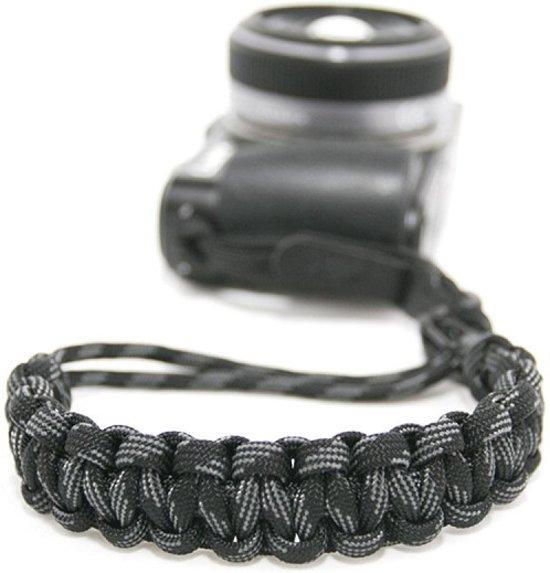 DSPTCH Braided Camera Wrist Strap Black Camo/Matte Black in Houx