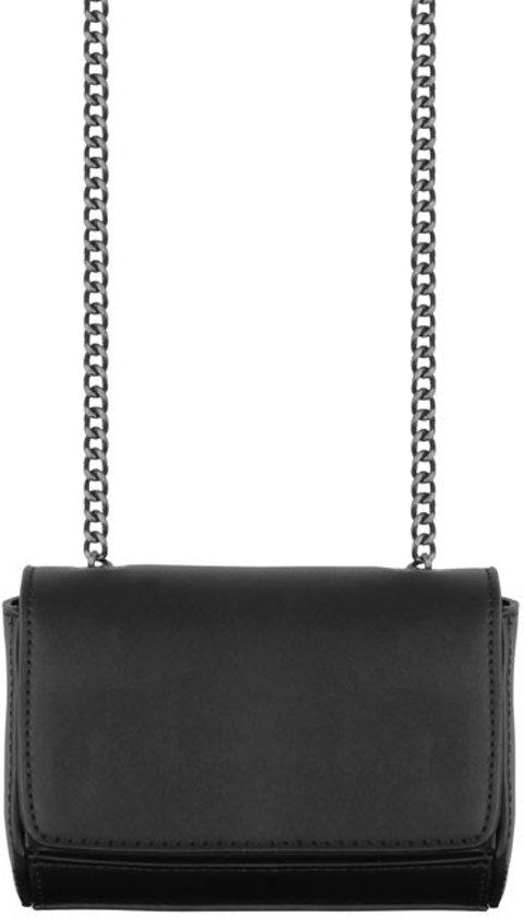 a9f719905952e0 bol.com | Klein zwart tasje clutch ketting, Schoudertas