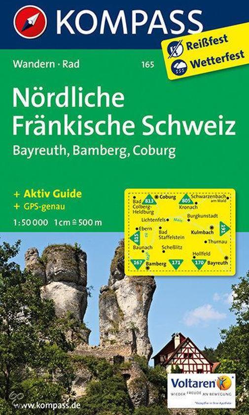 Nördliche Fränkische Schweiz, Bayreuth, Bamberg, Coburg WK165