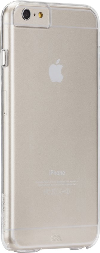 Case-Mate Barely There hoesje voor iPhone 6 Plus - transparant