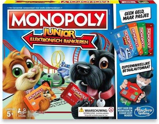 Monopoly Junior Elektronisch Bankieren - Bordspel