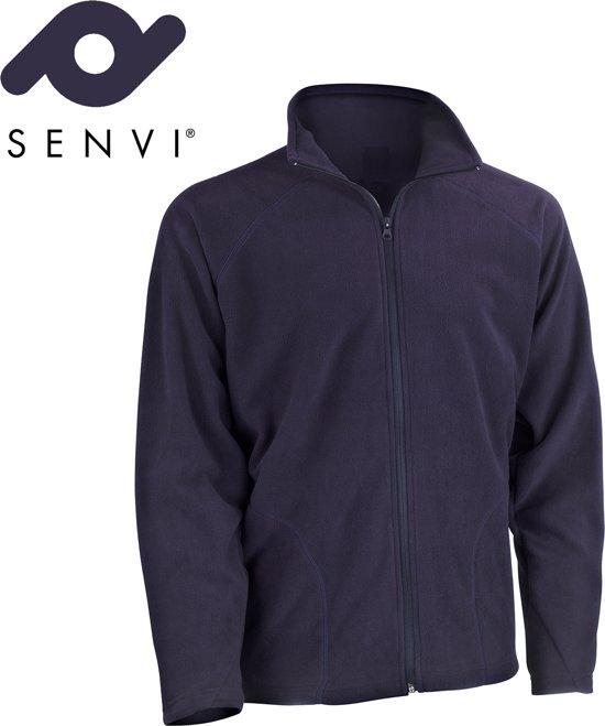 Maat Vest Kleur Laag Basic Microfleece Xxl Blauw Senvi Fleece Thermisch qwRPxEwO8