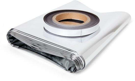 EcoSavers Radiatorfolie met Magneettape - isolatie folie bevestigen met magneet tape direct achterop radiator