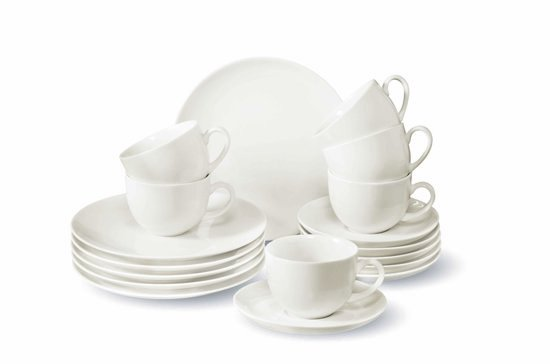 Villeroy & Boch Vivo New Fresh Basic Koffie Serviesset - 18 delig