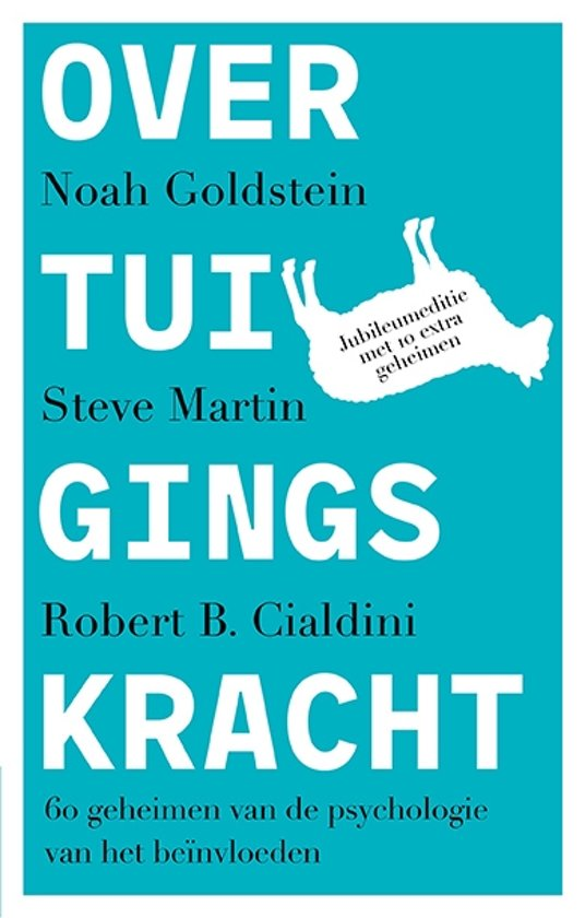 Boek cover Overtuigingskracht van Noah Goldstein (Paperback)