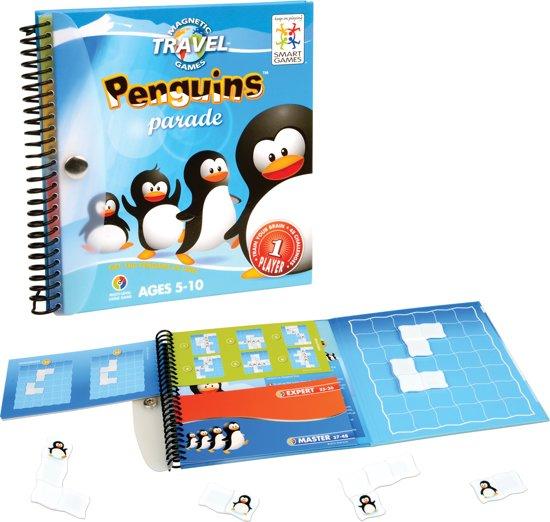 Thumbnail van een extra afbeelding van het spel Magnetic Travel Games - Penguins Parade