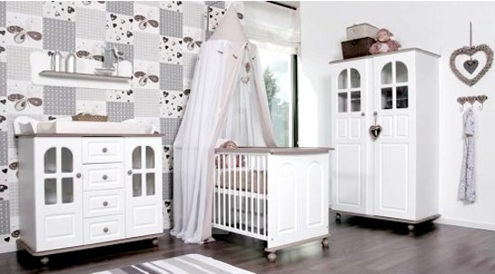 Complete Babykamer 3 Delig.Bol Com Bebies First Annelies Complete Babykamer Wit