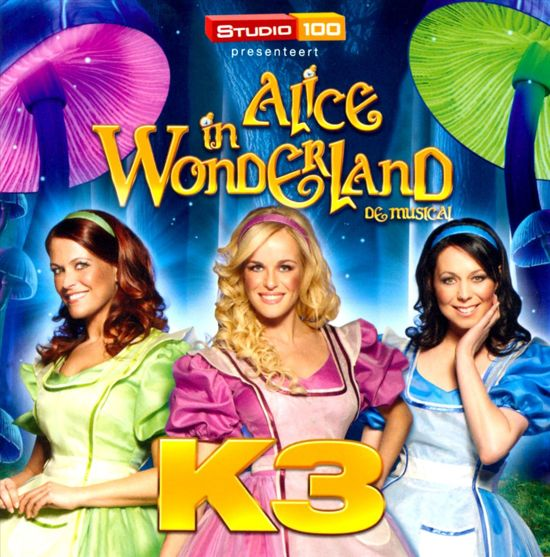 CD cover van K3 Alice In Wonderland (Cd) van K3