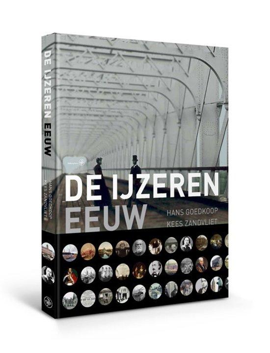 Boek cover De IJzeren eeuw van Hans Goedkoop (Hardcover)