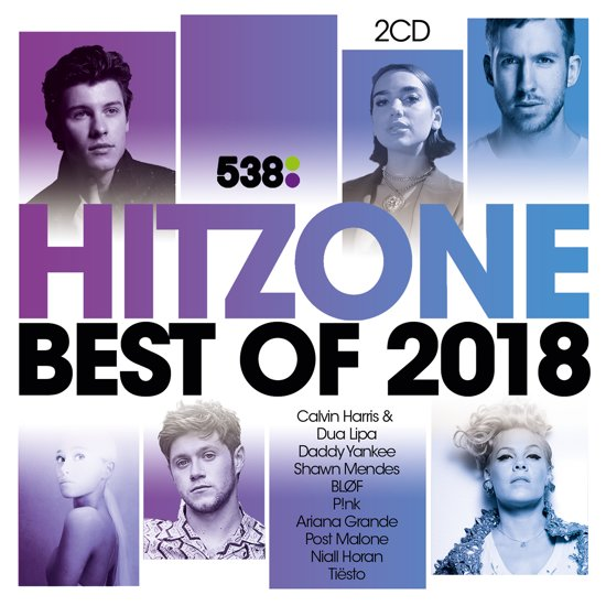 CD cover van 538 Hitzone - Best Of 2018 van Hitzone