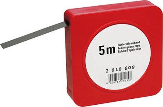 Voelermaatband Staal 0,07mm FORMAT