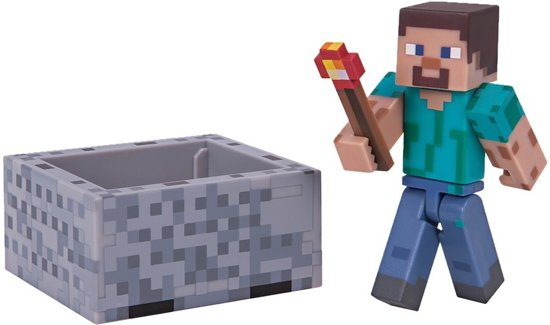 MINECRAFT - Steve with Minecart Pack - Series 3 Wave 1 kopen