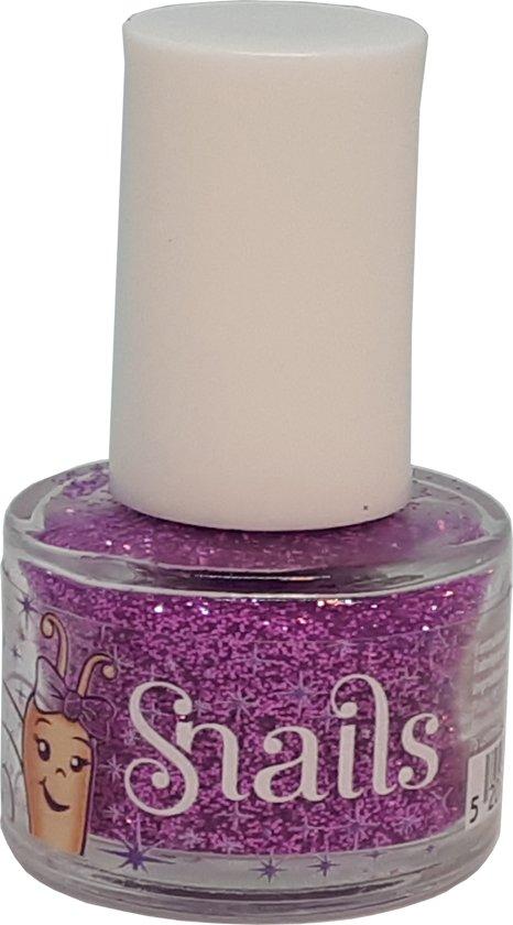 633cf4b5d4b Kinderen Meisjes Nagellak Glitter Snails veilig afwasbaar Purple Beautyset  Make-up