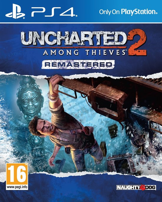 Uncharted 2, Among Thieves - PS4