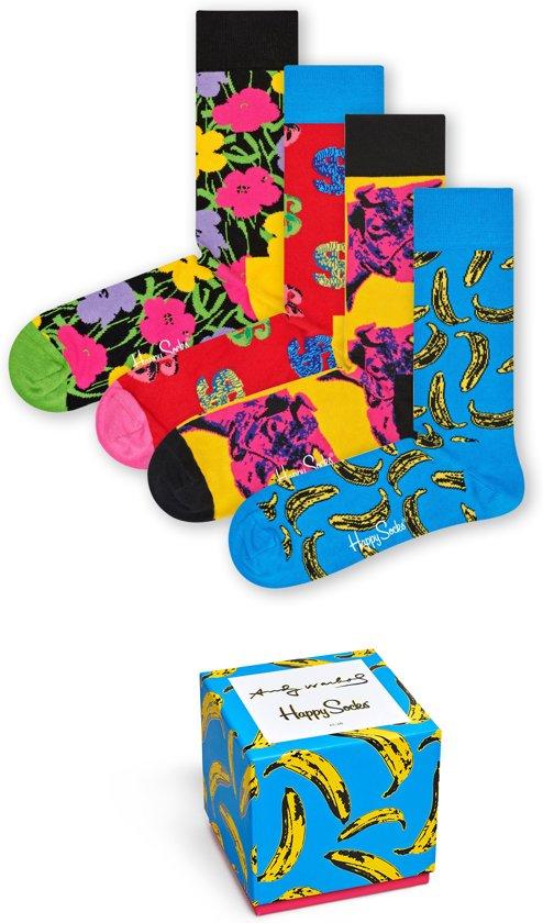 Happy Socks Andy Warhol Limited Edition Giftbox - Maat 41-46