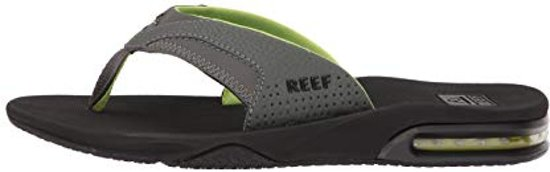 Maat 36 Reef 36 Slippers Fanning Heren Black green wUnqRBTYx