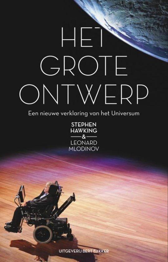 Boek cover Grote ontwerp van Stephen Hawking (Paperback)