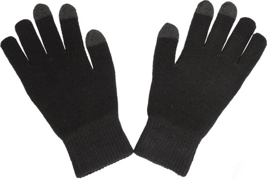 Muvit touch screen gloves black