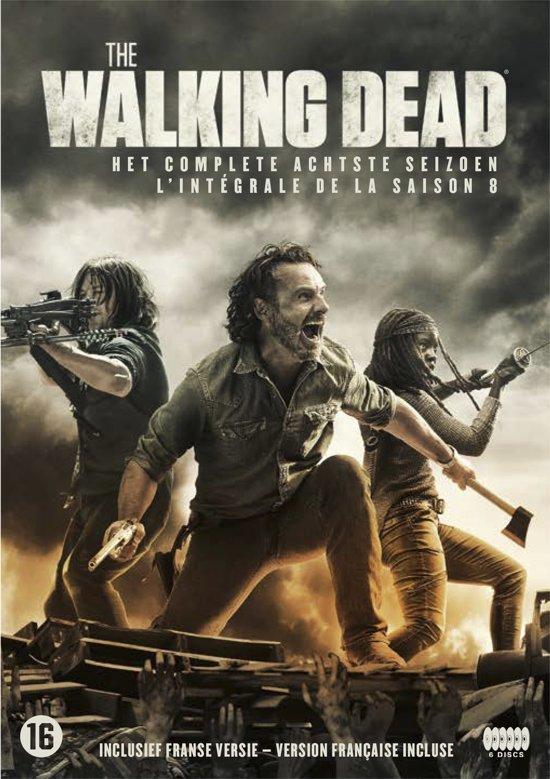 DVD cover van The Walking Dead - Seizoen 8