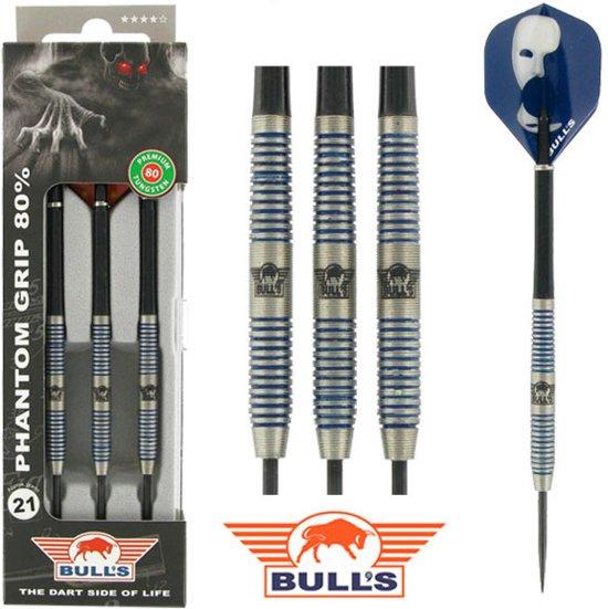 BULL'S Phantom Grip 80% dartpijlen 24 - 26 gram - 22 gram