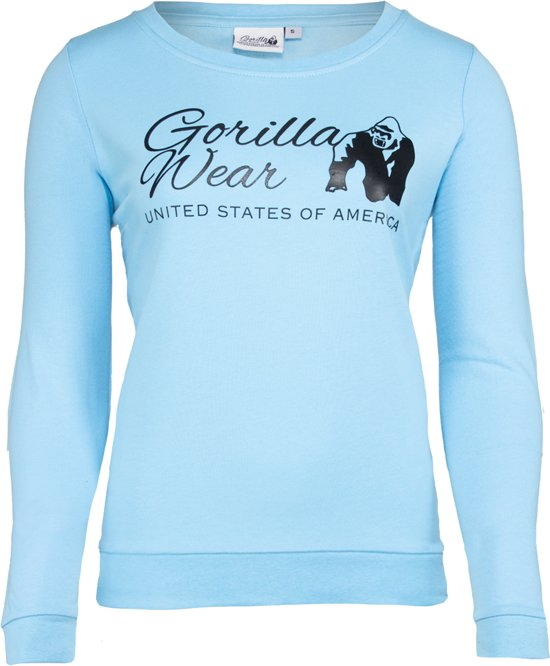 Gorilla Wear Riviera Sweatshirt - Light Blue - XS