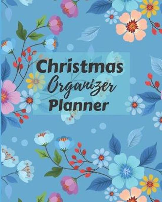 Christmas Organizer Planner: Flexible easy wipe-clean matte cover perfectly sized 8X10 inches, 100 pages with beautiful layouts with inspirational