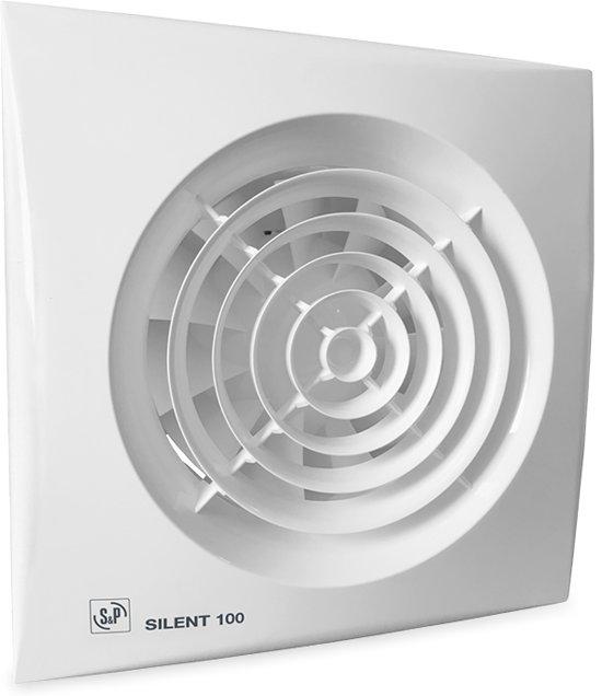 bol.com | Soler & Palau badkamer/toilet ventilator - Ø100mm ...