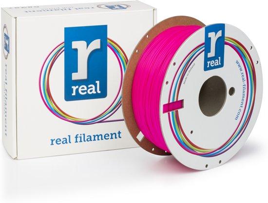 REAL Filament PLA fluoriserend roze 1.75mm (1kg)