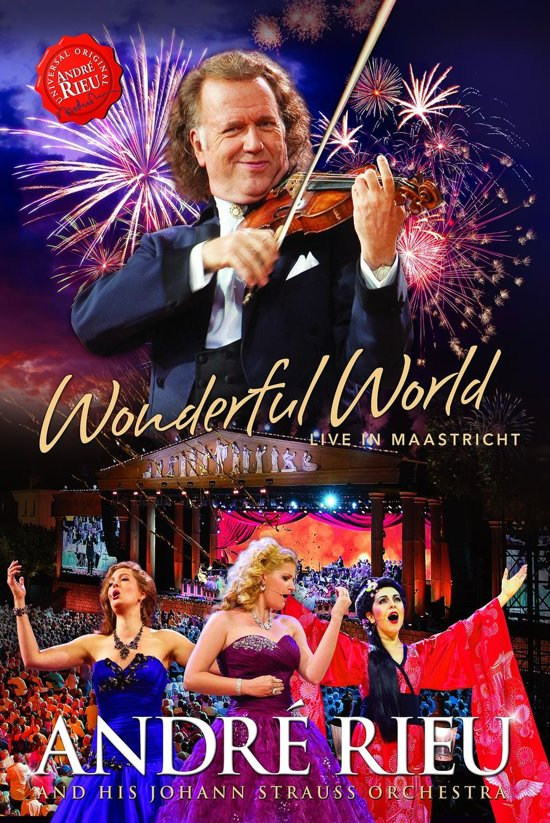Andre Rieu - Wonderful World - Live In Maastricht