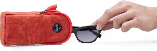 6499a872f1f150 Smateria Brillenkoker Goggles oranje rood gemaakt van gerecycled net