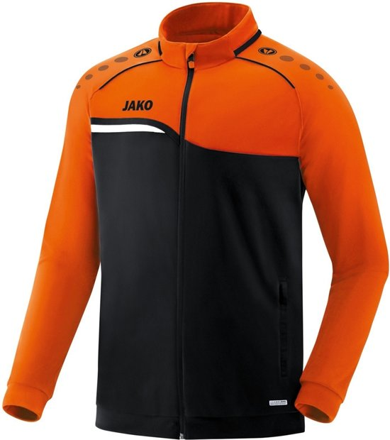 Jako Competition 2.0 Polyesterjack - Sweaters  - zwart - 164