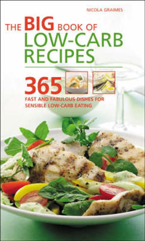 Boek cover The Big Book of Low-Carb Recipes van Nicola Graimes (Paperback)