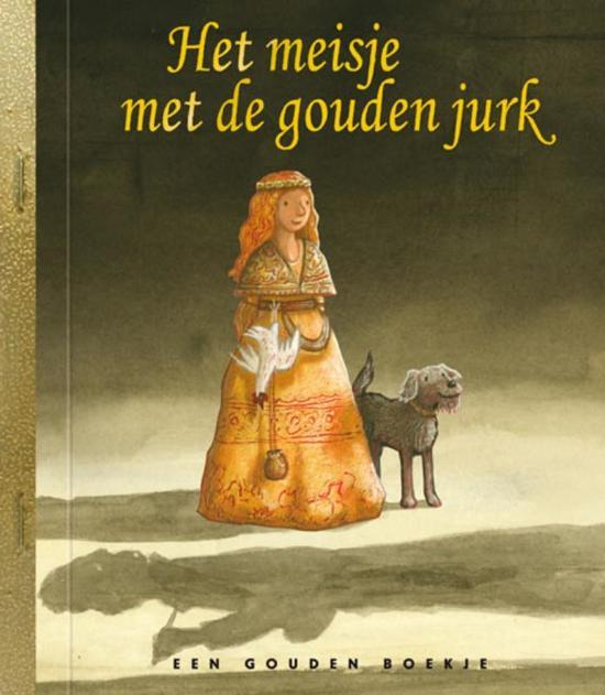 Gouden Boekjes - Het meisje met de gouden jurk