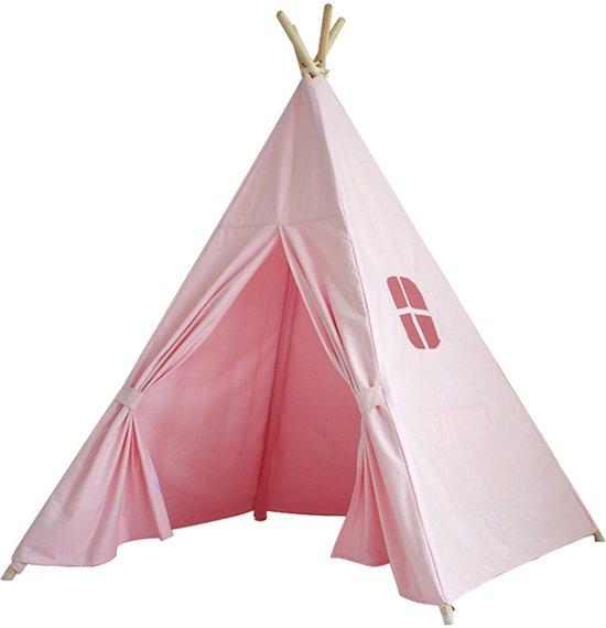 kinder tipi speeltent roze. Black Bedroom Furniture Sets. Home Design Ideas